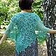 лето 2015, летняя мода, вязаная шелковая ажурная шаль спицами купить, шаль в подарок, подарок женщине