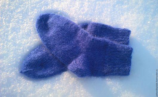 Носки, Чулки ручной работы. Ярмарка Мастеров - ручная работа. Купить Супер тёплые носки из мохера и шерсти. Handmade.