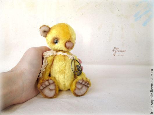 Мишки Тедди ручной работы. Ярмарка Мастеров - ручная работа. Купить Санни. Солнечный мишка Тедди. Игрушка. Handmade. Желтый