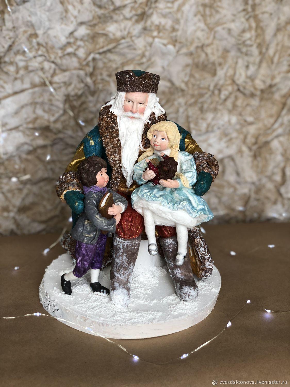Дед Мороз и дети, Дед Мороз и Снегурочка, Москва,  Фото №1