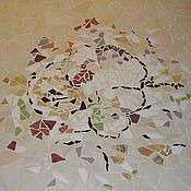 """Для дома и интерьера ручной работы. Ярмарка Мастеров - ручная работа Стол обеденный """"Весеннее настроение"""", мозаика. Handmade."""