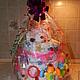 Подарки для новорожденных, ручной работы. Ярмарка Мастеров - ручная работа. Купить торт из памперсов. Handmade. Торт из памперсов, торт, для девочки