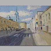 Картины и панно handmade. Livemaster - original item Taganka.. Handmade.