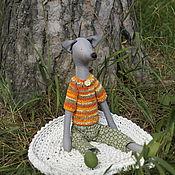 Куклы и игрушки ручной работы. Ярмарка Мастеров - ручная работа волк Афанасий. Handmade.