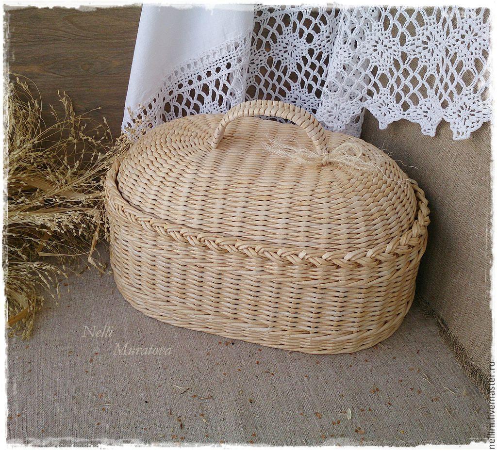 Нелли муратова плетение из газет мастер класс