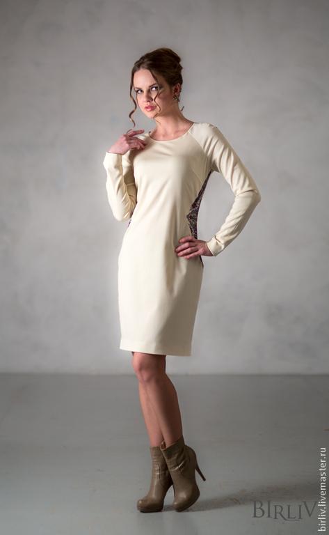 """Платья ручной работы. Ярмарка Мастеров - ручная работа. Купить Платье """"Сон Бабочки"""". Handmade. Белый, платье коктейльное"""
