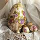 Подарки на Пасху ручной работы. Ярмарка Мастеров - ручная работа. Купить Большое пасхальное яйцо-матрешка. Handmade. Пасха