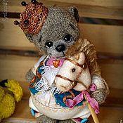 Куклы и игрушки ручной работы. Ярмарка Мастеров - ручная работа Принц на белом коне (эко-мишка). Handmade.