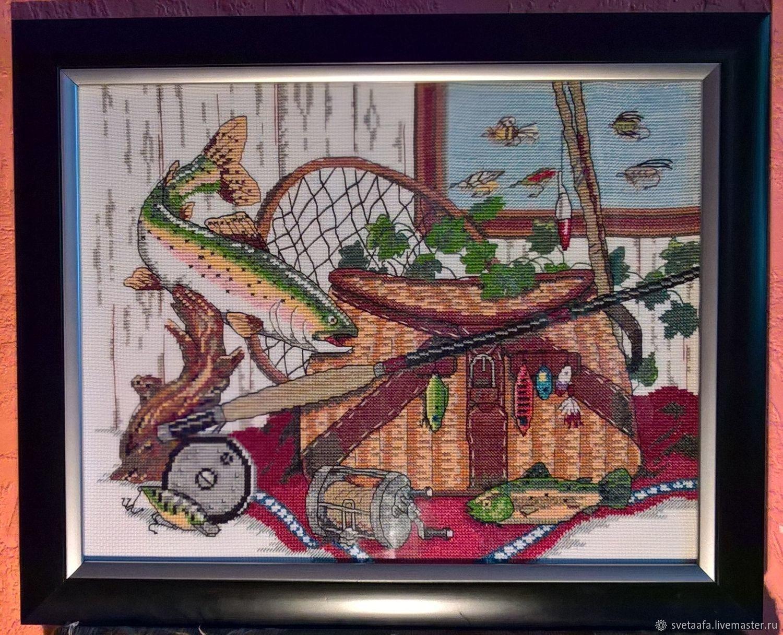 Уголок рыбака, Картины, Кронштадт,  Фото №1
