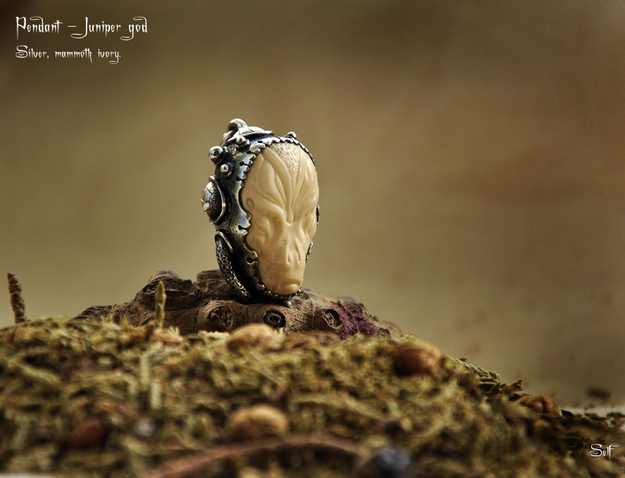 Pendant Juniper god, Pendants, Karnal,  Фото №1
