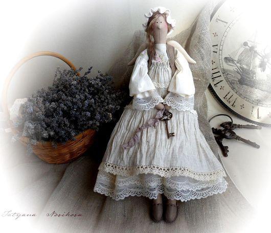 Тильда Фея Кукла тильда Тильда ангел Прованс Домашний ангел Фея тильда Домашний ангел Домашняя фея Ангел-хранитель Подарок девушке Стиль Прованс  Кукла Прованс Текстильная кукла