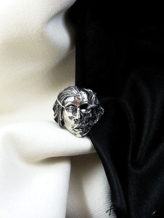 """Кольца ручной работы. Ярмарка Мастеров - ручная работа. Купить кольцо """"In Liеs"""". Handmade. Серебро, серебро"""