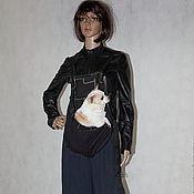 Для домашних животных, ручной работы. Ярмарка Мастеров - ручная работа Рюкзак переноска собачка. Handmade.