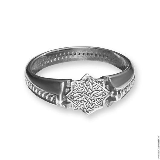 """Кольца ручной работы. Ярмарка Мастеров - ручная работа. Купить Кольцо """"Кельтская звезда"""" из серебра 925 пробы. Handmade. Серебряный"""