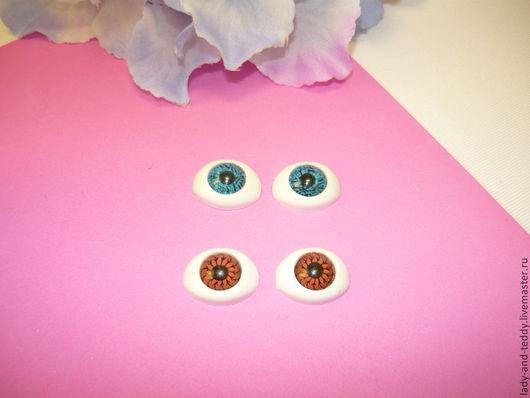 Куклы и игрушки ручной работы. Ярмарка Мастеров - ручная работа. Купить Глаза для кукол 13х18 мм рыбки. Handmade. Глаза