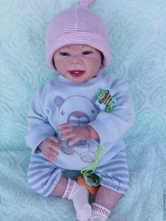 Куклы-младенцы и reborn ручной работы. Ярмарка Мастеров - ручная работа. Купить Малыш Семка 2. Handmade. Бледно-розовый