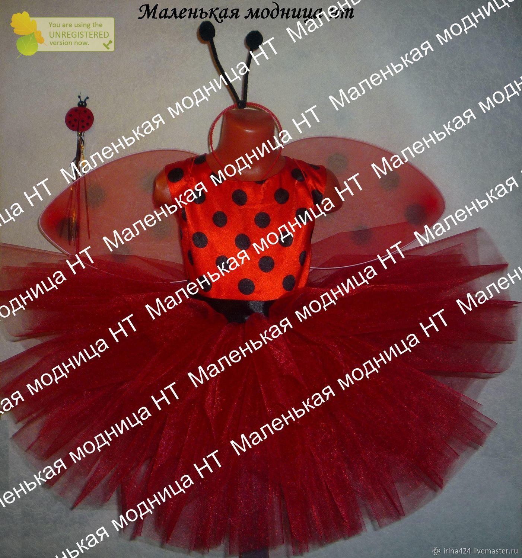 Карнавальный костюм божья коровка, букашка, Костюмы, Нижний Тагил,  Фото №1