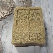 Косметика ручной работы. Ярмарка Мастеров - ручная работа Мыло с  желтой глиной. Handmade.