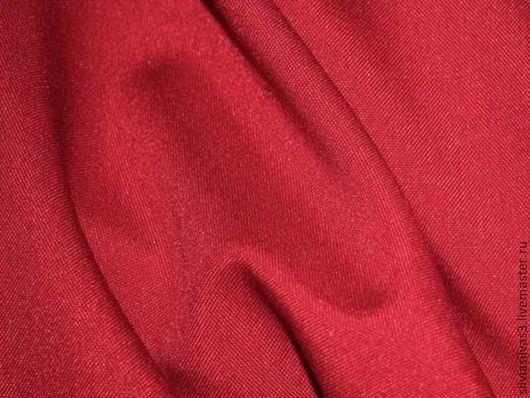 """Шитье ручной работы. Ярмарка Мастеров - ручная работа. Купить Вишневый габардин """"Винный цвет"""". Handmade. Бордовый, ткани, габардин"""
