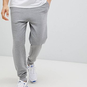 Clothing handmade. Livemaster - original item pants: Joggers, men`s, knitted. Handmade.