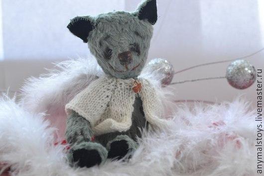 Мишки Тедди ручной работы. Ярмарка Мастеров - ручная работа. Купить мишка бени. Handmade. Тёмно-бирюзовый, Замша натуральная