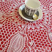 """Для дома и интерьера ручной работы. Ярмарка Мастеров - ручная работа Салфетка """" Ландыши """". Handmade."""