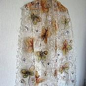 Аксессуары handmade. Livemaster - original item Fishnet scarf a stole