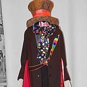 "Одежда handmade. Livemaster - original item Hatter ""Alice in Wonderland"". Animator-actor suit. Handmade."