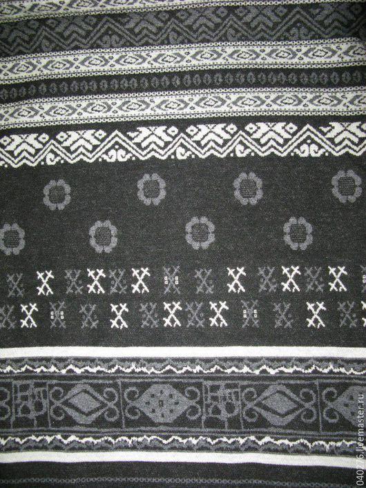 Элитная ткань `Орнаментика` от D&G,  Италия, 170 х 240 см, куплена в Милане. Плотная и мягкая ткань для пошива верхней одежды, пальто или платья. Цена 1500 руб. за метр.