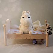 Куклы и игрушки ручной работы. Ярмарка Мастеров - ручная работа Муми-тролли ( во сне и наяву). Handmade.