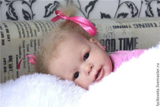 """Куклы-младенцы и reborn ручной работы. Ярмарка Мастеров - ручная работа. Купить Катерина кукла -реборн из мастерской """"Лучик Света"""". Handmade."""