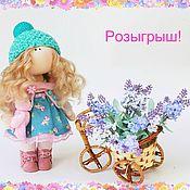 Куклы и игрушки ручной работы. Ярмарка Мастеров - ручная работа Интерьерная куколка. Handmade.
