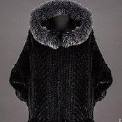 Одежда handmade. Livemaster - original item Coat of mink knitted. Handmade.