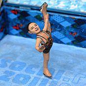 Куклы и игрушки ручной работы. Ярмарка Мастеров - ручная работа Кукла-миниатюра Аделина на Заказ. Handmade.