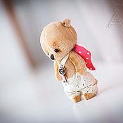 Куклы и игрушки ручной работы. Ярмарка Мастеров - ручная работа Тедди ангелочек. Handmade.