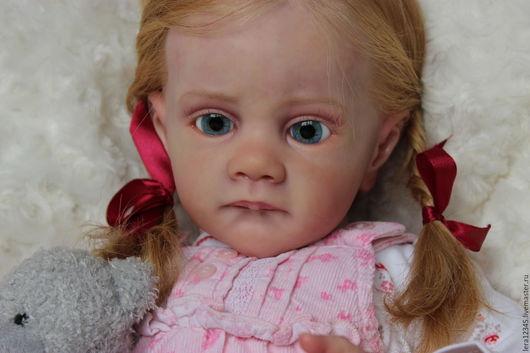 Куклы-младенцы и reborn ручной работы. Ярмарка Мастеров - ручная работа. Купить девочка из молда Фрида.. Handmade. Бежевый, генезис