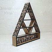 Для дома и интерьера manualidades. Livemaster - hecho a mano decorative shelf. Handmade.