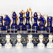 Подарки к праздникам ручной работы. Ярмарка Мастеров - ручная работа Шахматы подарочные  деревянные Версаль. Handmade.