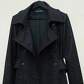 Пальто ручной работы. Ярмарка Мастеров - ручная работа Пальто Редингот, шерсть. Handmade.