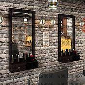 Для дома и интерьера handmade. Livemaster - original item Men`s Barber mirror. Handmade.