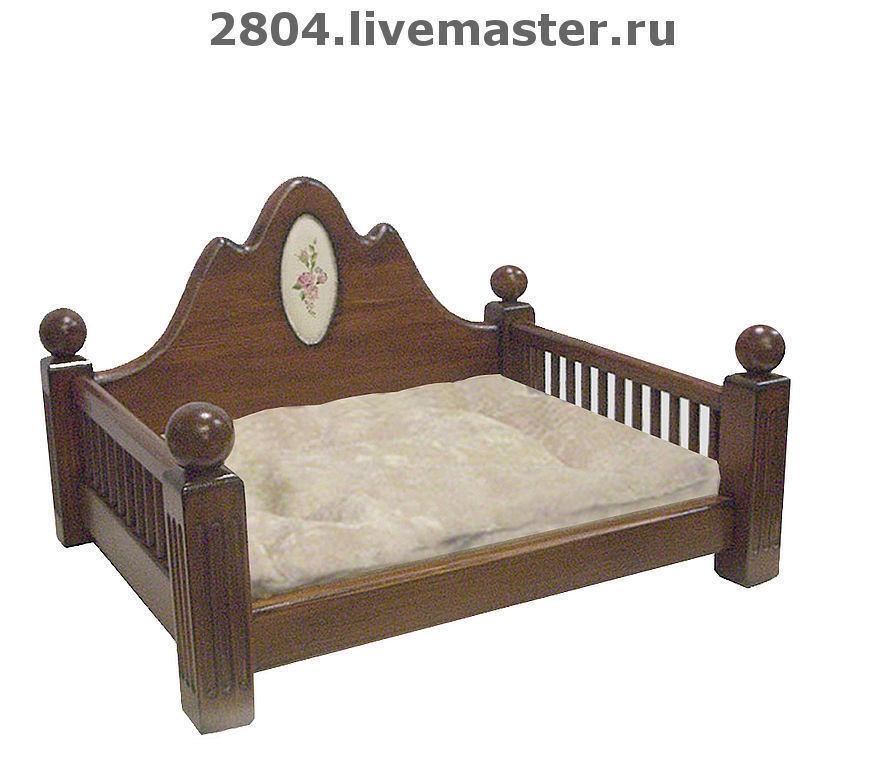 Аксессуары для собак, ручной работы. Ярмарка Мастеров - ручная работа. Купить Кровать для собаки или кошки деревянная мебель для животных. Handmade.