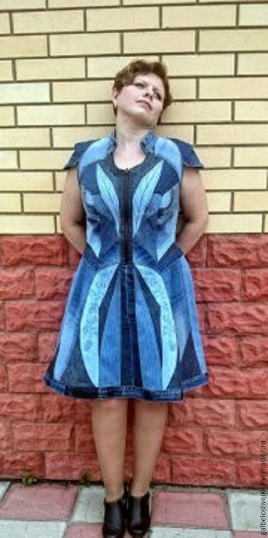 Лоскутное шитье платьев
