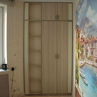 Мебель ручной работы. Ярмарка Мастеров - ручная работа Шкаф с распашными дверями на заказ 11. Handmade.