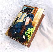 Для дома и интерьера handmade. Livemaster - original item box book the Master and Margarita. Handmade.