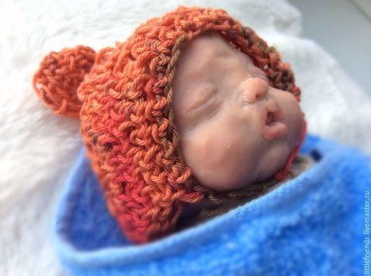 Куклы-младенцы и reborn ручной работы. Ярмарка Мастеров - ручная работа. Купить Малыш из полимерной глины Филя. Handmade.