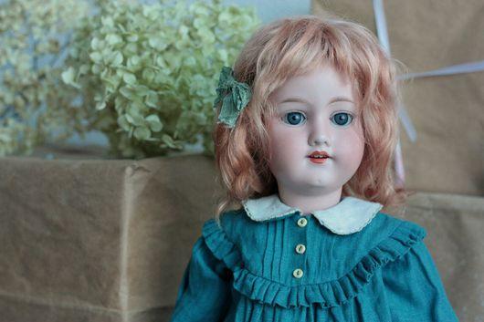 Одежда для кукол ручной работы. Ярмарка Мастеров - ручная работа. Купить Комплект одежды для антикварной куклы. Handmade. Платье для куклы