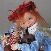 """Куклы и игрушки ручной работы. Ярмарка Мастеров - ручная работа """"Жадная Лизка"""". Handmade."""