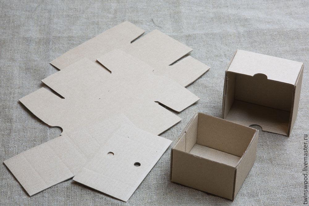 Сборные коробки из картона для подарков