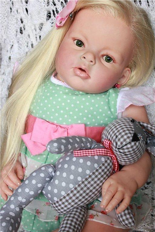 """Куклы-младенцы и reborn ручной работы. Ярмарка Мастеров - ручная работа. Купить Арианна  из мастерской """"Лучик  Света"""". Handmade. Бежевый"""