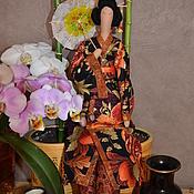 Куклы и игрушки ручной работы. Ярмарка Мастеров - ручная работа Тильда японка. Handmade.